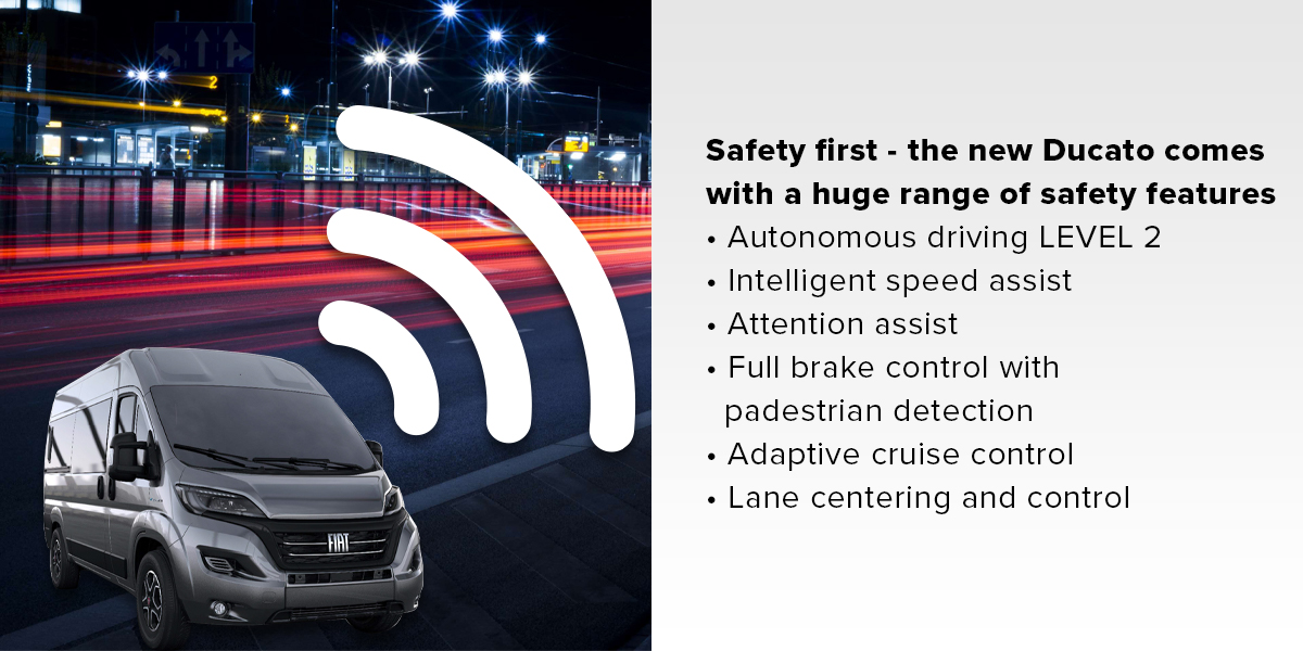 Fiat Ducato Series 8 Safety First