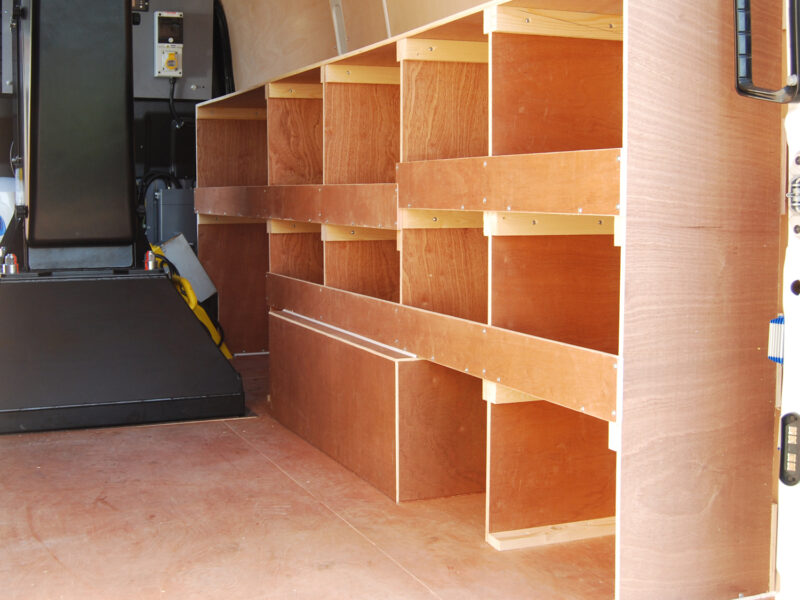 VLS Gallery Ply Cubby Holes