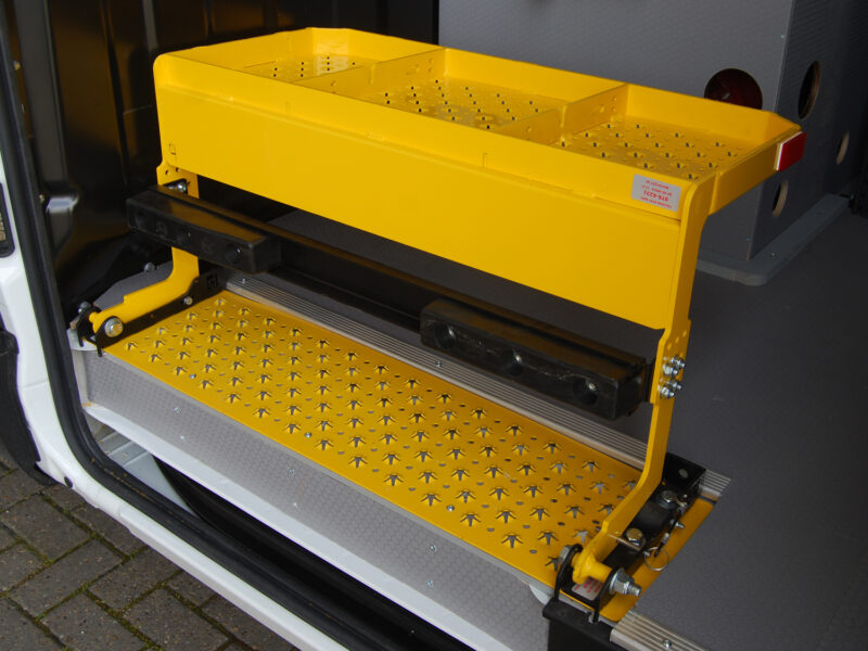 VLS Gallery Yellow Step Folded